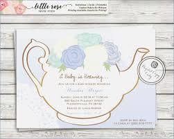 tea party templates tea party invitation template free eps format tea baby shower tea