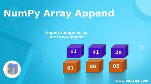 numpy array append exles of numpy