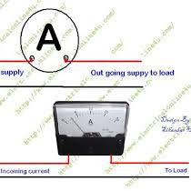 digital amp meter wiring diagram digital image how to wire ammeter for dc and ac ampere measurement on digital amp meter wiring diagram
