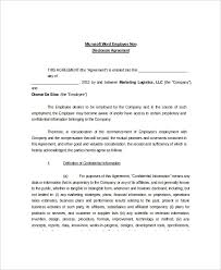 Standard Nda Agreement Template 9 Non Disclosure And Confidentiality Agreement Templates