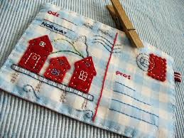 Best 25+ Fabric postcards ideas on Pinterest | Crazy photos ... & Fabric Houses on a fabric postcard Snelson Snelson warren this is a bit  like how that postcards round the world tee I imagine did I tell u someone  else ... Adamdwight.com