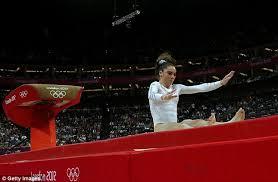 vault gymnastics mckayla maroney. Delighful Vault Blunder McKayla Maroney Pictured Failed To Land Her Dismount In The  Womenu0027s Vault And Vault Gymnastics Mckayla Maroney