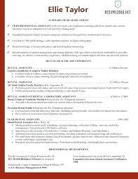 15 Dental Assisting Resume Samples Proposal Letter