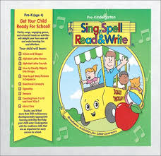 Sing Spell Read And Write Alphabet Chart Preschool Home Kit Second Edition Sing Spell Read And Write