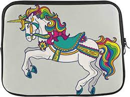Horse Rainbow Color Laptop Sleeve Case 15 15.6 ... - Amazon.com