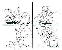 Plants Vs Zombies Pictures To Print Coloring Zombie Coloring Sheets