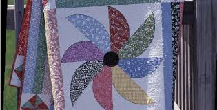 Pinwheel Flurry in 1930's Reproduction Favorites – Quilting Cubby & pinwheel flurry black eyed susan quilt pattern Adamdwight.com