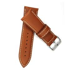vintage leather watch strap watch band 28mm italy oily genuine leather light brown watchband for woman watches watch band pins leather replacement watch