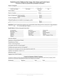 Medical Physical Form Template Medical Physical Examination Form Lobo Black