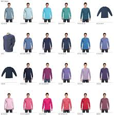Comfort Colors C6014 Custom Long Sleeve Shirt Bulk Custom Shirts