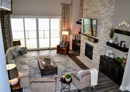 Interior Design Omaha Modern Farmhouse Dream Home New Build Chesterfield Sofa
