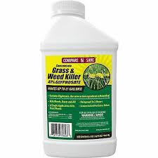 41 Glyphosate Herbicide Mixing Chart 2 5 Gals Glyphosate Concentrate Herbicide 41 Weed Grass