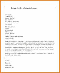 11 Sample Leave Letter To Manager Instinctual Intelligence