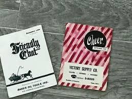 Pamphlet And Brochure Details About Baker Oil Victory Supply Co Ads Pamphlet Brochure Booklet Leaflet Paper
