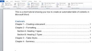 How To Make Automated Table Of Contents In Microsoft Word Tech Advisor