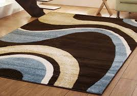 Small Extra Large Modern Brown Blue Green Red Swirl Design In Addition To  Gorgeous Modern Carpets