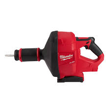 milwaukee m18 fuel 18 volt lithium ion cordless drain cleaning snake auger with 5