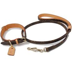 louis vuitton dog collar and leash set 100 authentic pet supplies for dogs dog accessories on carou
