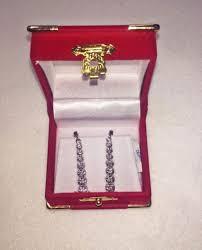 post navigation 14kt white gold las diamond chandelier earrings