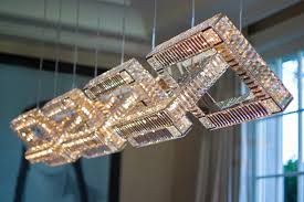 classic lighting with a unique modern spin windfall crystal chandeliers freshome com