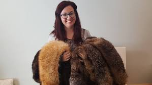 copper fox owner whitney kelly clark collects fur coats to upcycle into new handmade s including hats and pillows submitted by copper fox