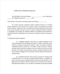 Data Confidentiality Agreement Amazing Company Confidentiality Policy Template Pcccus