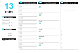 Agenda Excel Template Meal Planner Template Excel Meal Plan Template