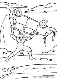 Kleurbladsy Superheld Gratis Kleur Bladsye Vir Aflaai
