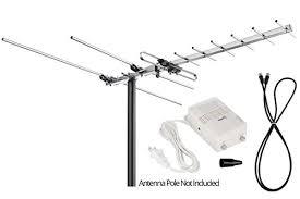 viewtv vt 27uv digital amplified outdoor indoor attic hdtv antenna 150 miles range