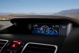 2018 subaru wrx premium. plain wrx 2018 subaru wrx sti instrument display photo and subaru wrx premium