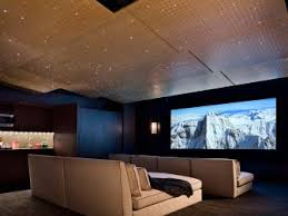 Home Theater With Sofas