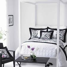 feminine bedroom furniture bed: black and white bedroom stylish bedroom in black and white