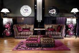 luxury bedroom furniture purple elements. GLAMOUR SOFAS - SEATS Luxury Bedroom Furniture Purple Elements