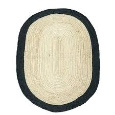 black braided rug oval jute braided rug with black border rugs black country star braided rug