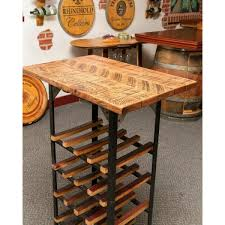 wine rack table. Brilliant Table Distinctive Table Wine Rack  Handcrafted Intended
