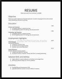 Teenage Resume Example. First Resume Samples First Resume Template