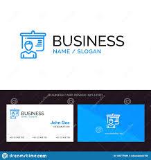 Teacher Education Presentation School Blue Business Logo