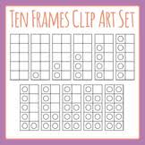 10 frame template ten frame template teaching resources teachers pay teachers
