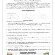 Chef Resume Chef Resume Throughout Executive Resume Template Fred Resumes 16