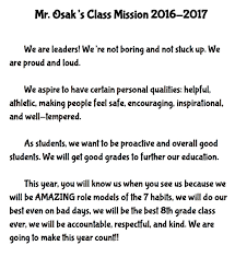 rob osak valley life charter schools personal mission statement