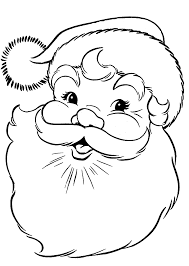 Small Picture Free Santa Coloring Pages