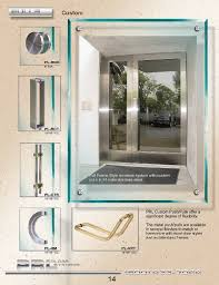 custom commercial door pulls offer a unique look and can be fabricated in most finishes