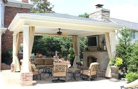 covered patio with fireplace outdoor patio and backyard medium size landscape patio covered fireplace with pool