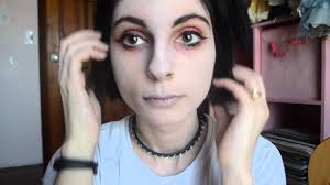 get the look pale sick and dead