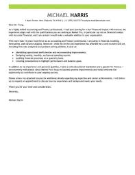 Creating Cover Letter Best Accounting Finance Cover Letter Examples Livecareer Create A 6