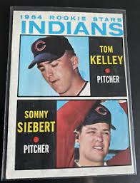 1964 Topps #552 Indians Rookie Stars - Sonny Siebert/Tom Kelly - High  Number | eBay