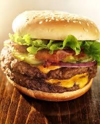 double angus bbq bacon cheeseburger