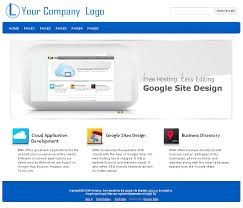 Google Site Templates Tem6 Google Sites Templates