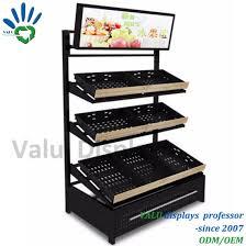 Display Stand Hs Code Impressive China Supermarket Metal Iron Fruit And Vegetables Shelving Slanted