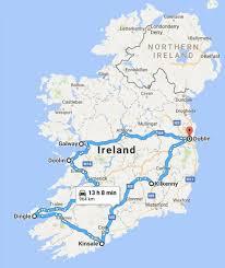 Ireland Trip Planner Map Map Of Ireland Trip Planner